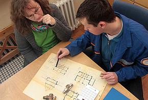 Haus-Check und Datenaufnahme