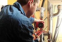 Durchführung des hydraulischen Abgleichs - ebenfalls im Förderprogramm Heizungsoptimierung enthalten