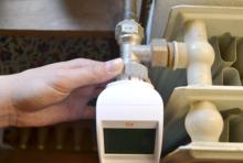 Elektrische Thermostate sparen bis zu 10 Prozent Heizenergie ein.