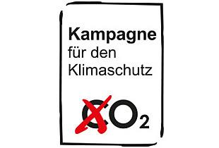 Kampagne für den Klimaschutz