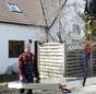 Praxistest Solarthermie: Indach-Montage von Kollektoren Schritt 2.