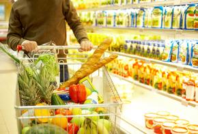 Gesund einkaufen im Supermarkt