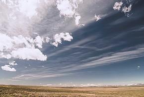 Landschaft mit Himmer