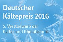 5. Wettbewerb der Kälte- und Klimatechnik
