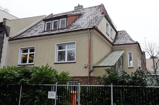Das Haus von Familie Hein in Berlin