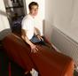 Christoph Kniehase und der neue Pufferspeicher