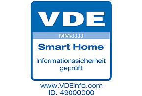 Smart Home: Zertifikat Verband der Elektrotechnik (VDE)