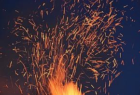 Feuer und Funken