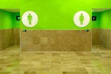 Öffentliche Toilette