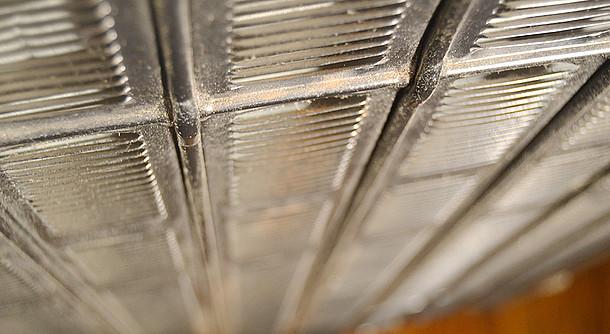 Luftgitter eines Kühlschranks