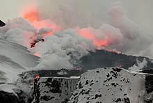 Ausbruch des Eyjafjallajökull am Fimmvörðuháls