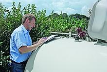 Flüssiggas Tank mit Installateur