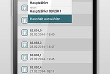 App EnergieCheck: Zählerstände