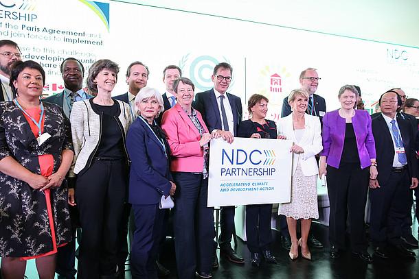 Deutschland und Marokka begründen die NDC Partnership auf der COP22