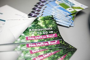Broschüren: Klimaschutz To Go