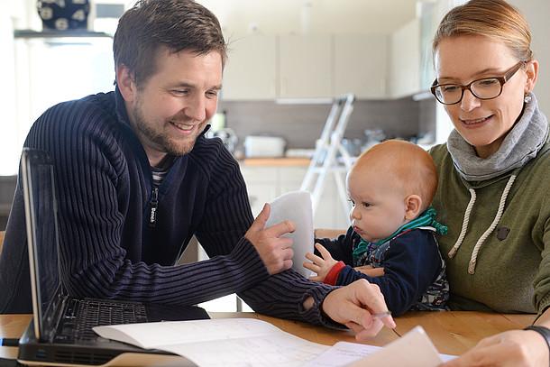 Praxistester Familie Krämer planen ihre Lüftungsanlage