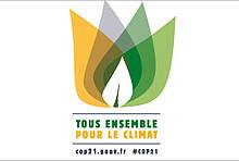 Logo COP21 in Paris