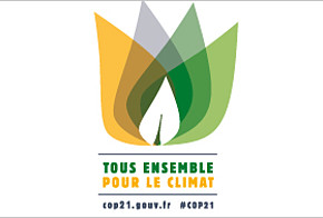 Logo COP21 in Paris