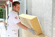Fassadendämmung Holzfaser