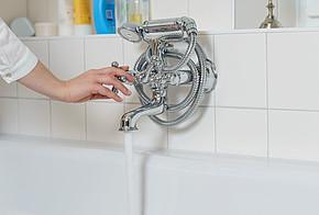 Durchflussbegrenzer sparen Wasser und reduzieren die Heizkosten.