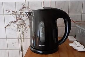 Unauffällig und zuverlässig, der Wasserkocher von Philip