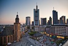 Frankfurt am Main am Abend