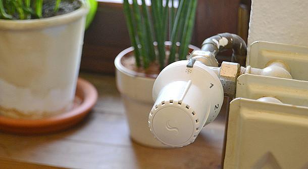 Ihr altes Thermostat können Sie schnell wechseln.