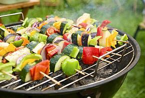 Gemüse grillen und Klima schützen