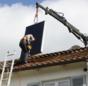 Praxistest Solarthermie: Indach-Montage von Kollektoren Schritt 4 – Kollektor richtig platzieren.