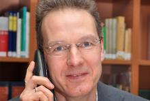 Dietmar Wall vom Deutschen Mieterbund