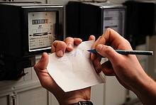 """Mit der kostenlosen App """"EnergieCheck"""" können die Zählerstände bequem per Smartphone oder Tablet eingetragen werden."""