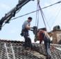 Praxistest Solarthermie: Indach-Montage von Kollektoren Schritt 1 – Dachziegel runter.