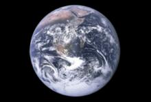 Satellitenbild von der Erde