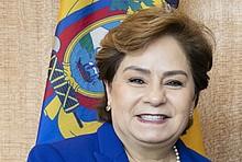 Foto von Generalsekretärin des UN-Klimasekretariats Patricia Espinosa