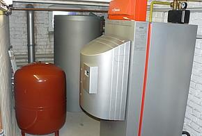 Gas-Heizanlage in Heizungskeller