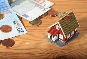 Plastikhaus und Geld