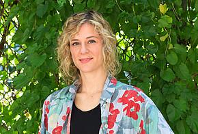 Auf dem Foto ist Natalie Köppe, Praktikantin von co2online, zu sehen.