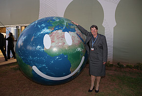 Barbara Hendricks auf der COP22