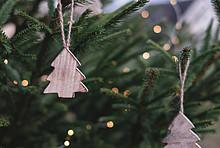 Weihnachten Baumdekoration und LED-Lichter