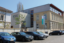 Gebäude der Sächsischen Bildungsgesellschaft für Umweltschutz und Chemieberufe Dresden mbH