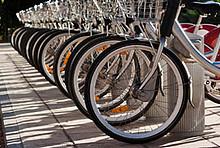 Radfahren schont das Klima