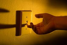 Licht ausmachen