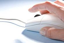 Hand an PC-Maus