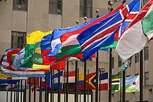 Fahnen der Länder der Vereinten Nationen
