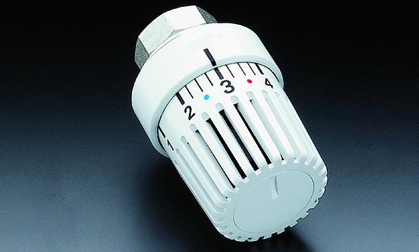 Herkömmliches Thermostatventil