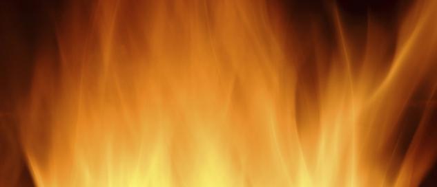 Bühne für Brennwertkessel Feuer